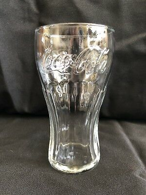 Vintage Clear Coca Cola Glass Never Used Coke