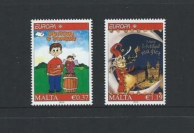 2010 MALTA Europa - Childrens Books Set MNH (Scott 1410-1411)