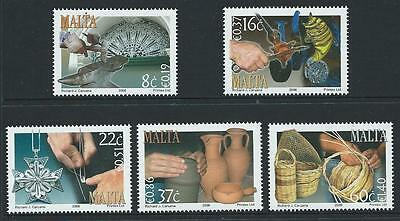 2006 MALTA Crafts Set MNH (Scott 1270-1274)