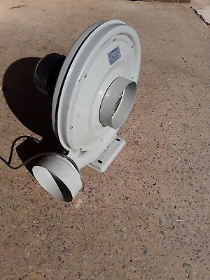 High Speed Centrifugal Industrial Blower Fan 240v 6 Inch input output