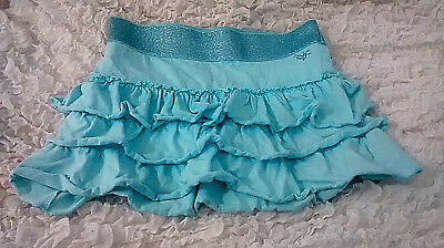 JUSTICE GIRLS LAYERED RUFFLE SKIRT SKORT  SIZE?? Have measurements