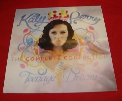 """Katy Perry ~ Teenage Dream Numbered (150 Made) Capitol Lenticular 12""""X12"""" Poster"""