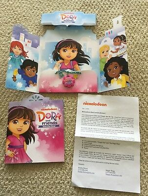 Dora The Explorer And Friends Into The City Press Kit Usb Necklace Book Nm 2014