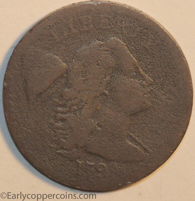 1794 S43 R2 Liberty Cap Large Cent Head of 1794 Raw VG Starts 1c NO RESERVE!