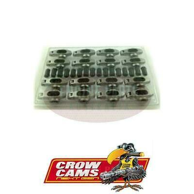 """Crow Cams Stainless Steel Roller Rocker 3/8"""" Stud 1.5 Ratio For S/B Chev"""