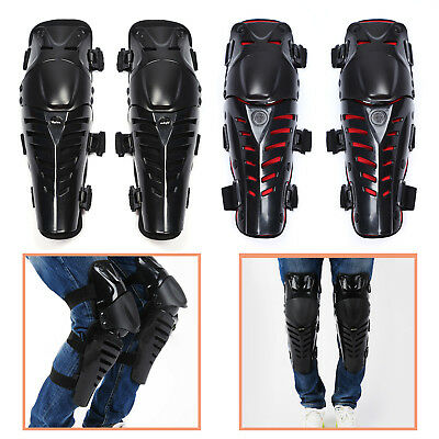 Kit Elbow Knee Shin Armor Protector Guard Pads for Bike Motocross Racing L00 ab6