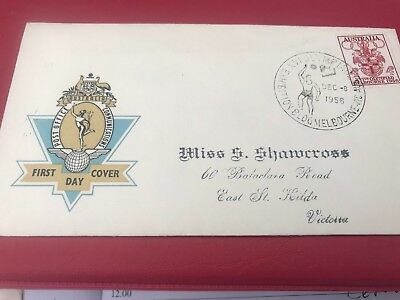1956 Melbourne Olympics first day covers Nice Condition Victory Dias Stamp