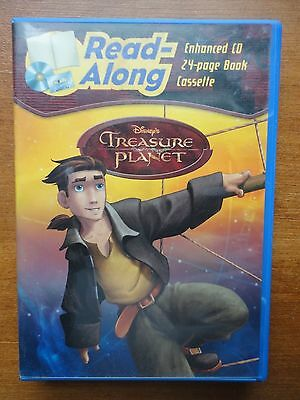 Disney Treasure Planet Read-Along Book with CD & Cassette