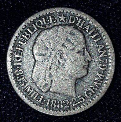 1882, 10 Centimes from Haiti.  No Reserve!