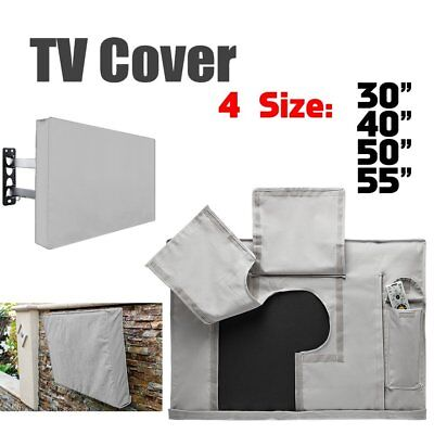 Outdoor TV Cover Waterproof Television Protector for 30-55'' inch LCD LED Plasma