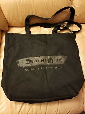 Depeche Mode  The Global Spirit Tour 2018 VIP Ticket Package Reversible Tote Bag