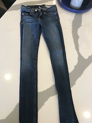 Womens Rag and Bone High Rise Skinny Jeans Size 26 EUC Cheshire