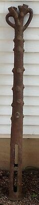 Antique Vintage Cast Iron Tree Hitching Post