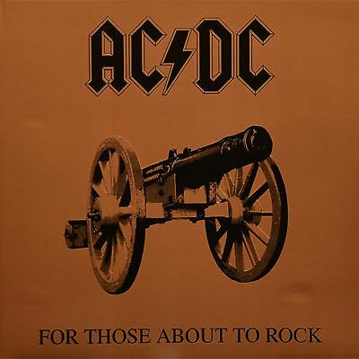 Ac/dc - For Those About To Rock We Salute You (180 Gram) - Vinyl Lp - New