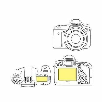 Martin Fields Overlay Plus Screen Protector (Canon EOS 6D) - Includes Top LCD...