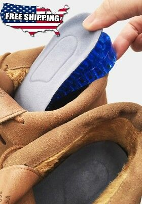 Shoe Insole Lift Heel Inserts unisex for Men and Women 2 Layer Height Increase