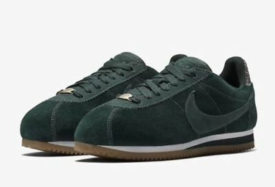 5b07546c25e3 Nike Classic Cortez ALC PREM AH5206-300 Midnght Spruce Brand New Women s  Size 8