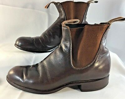 R.M Williams Brown Boots 5 G W