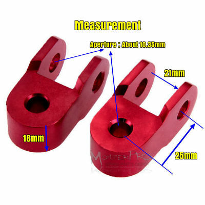 2X Height Extension Extender Shock Absorber Motorcycle Jack Up Riser Suspension