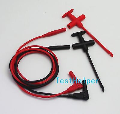 Th-F-2-Kit Test Probes & Leads Insulation Piercing Clip Silicone Set Hook Jack