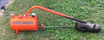 Sheen X300 Flame Gun - weed control without chemicals
