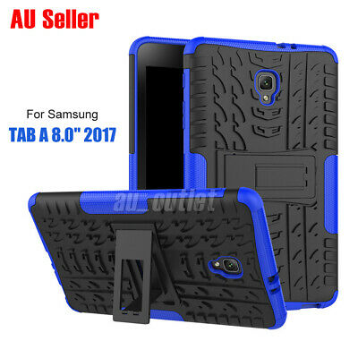 TPU Heavy Stand Shockproof Case Cover For Samsung Galaxy Tab A 8.0 2017 7.0 10.1