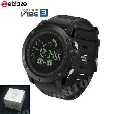 Zeblaze VIBE3 Wrist Smart Watch Phone Sport Waterproof Remote Camera IOS Android