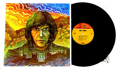 NEIL YOUNG ◈ VG+ 1968 W7 Reprise 1B/1D withdrawn original mix both sides NO RE-1