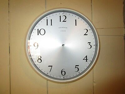 Vintage / Retro Synchronome Wall Clock case - no movement .11 in. Synchronome