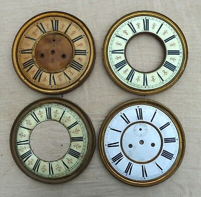 Job Lot Of Vienna Clock Dials With Bezel