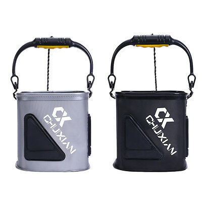 Portable Foldable EVA Collapsible Fishing Bucket Outdoor Camping Travel Barrel