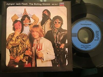 7'Rolling Stones >Jumping Jack Flash/Child of the moon< GERMANY LONDON