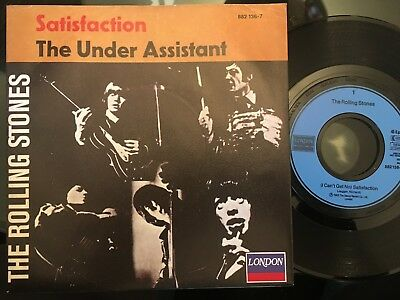 7'Rolling Stones >Satisfaction/The Under Assistant< GERMANY LONDON