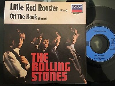 7'Rolling Stones >Little red rooster/Off the hook< GERMANY LONDON