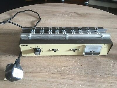 Guagemaster Model LT OO Rolling Road Loco Tester/ Controller OO/ HO Scale DC Mod