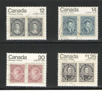 756 Complet set used VF
