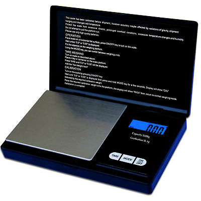 NEW Small mini pocket digital electronic weighing weight scale 0.01g-200Gram UK