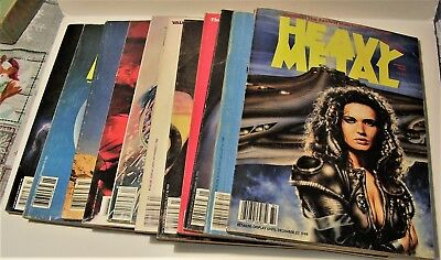 Large Lot Of Heavy Metal Magazines Lot A