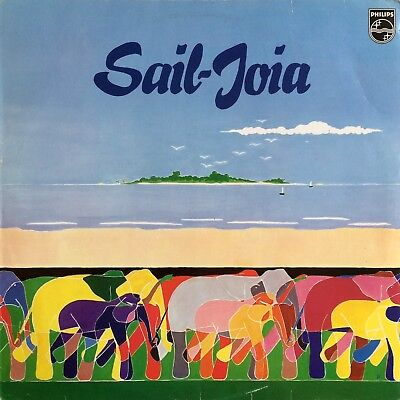 Sail-Joia ‎– Sail-Joia 1977 Philips ‎– 6410 950 Netherlands FUNKY BRAZIL SOUL LP