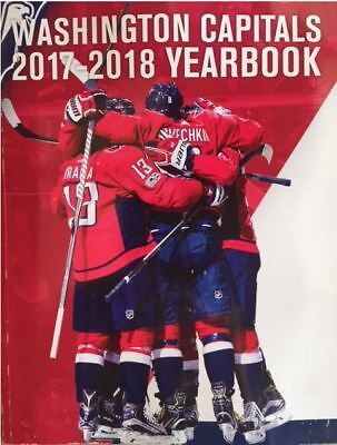2017-2018 Washington Capitals Yearbook Nhl Stanley Cup Finals  Nhl Hall Of Fame