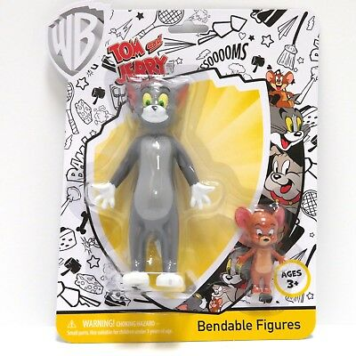 Looney Tunes TOM & JERRY Bendable Action Figure