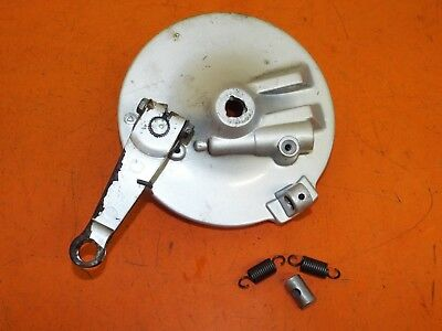 Honda Lead 100  2006 Front Brake Backplate and Operating Arm