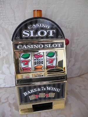 Casino Slot Bars & 7s Wins toy/fun for adult Bar novelty...bells ring ! battery