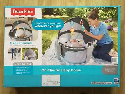 Fisher-Price On-the-Go Baby Dome (Brand New)