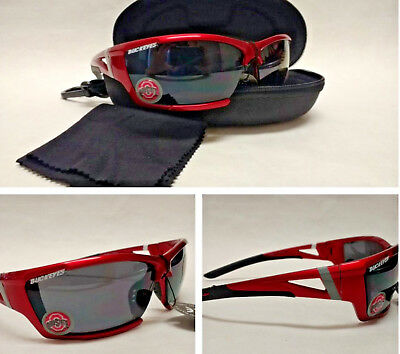 24f45b5e7a0 READ LISTING! OHIO State Buckeyes 3 PC set! Sunglasses