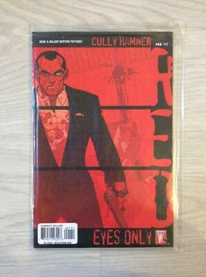 RED: Eyes Only (One-Shot)  (Prequel zur 1. Serie)   US IMAGE Comic  WARREN ELLIS