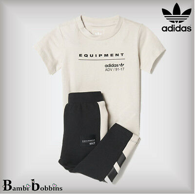 a12dfc46dcd Adidas Originals Age 3-6 Months Euro 68 Outfit EQT Adv Tracksuit Set Baby  Girls