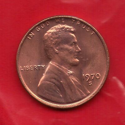 1970 S Penny**UNC**SELL-OFF**Slot Filler or Starter Coin**(70S0523)
