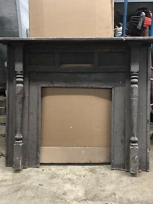 Amazing Antique Fireplace Mantel Surround Mid 19Th Century Architectural Salvage Interior Design Ideas Oxytryabchikinfo