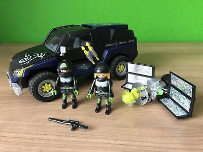 Playmobil 4878 Top Agents Robo Gangster SUV